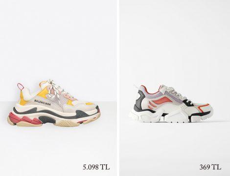 Balenciaga - Zara Sneaker Fiyatları