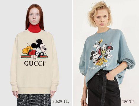 Gucci – Bershka Disney Sweatshirt Fiyatları