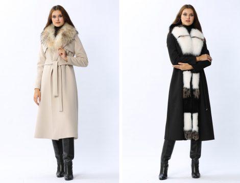 Kürklü Tesettür Palto Modeli