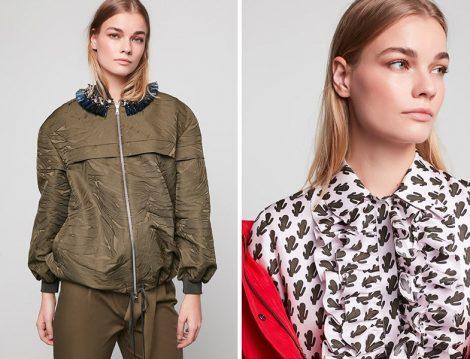 Machka İlkbahar-Yaz 2020 Bomber Ceket ve Desenli Bluz