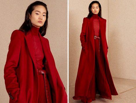 Max Mara Kırmızı Palto