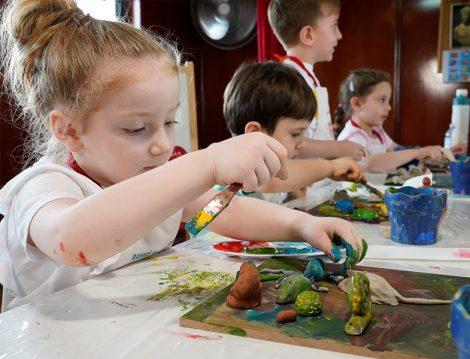 Rahmi M. Koç Müzesi Çocuk Eğitim Atölyesi