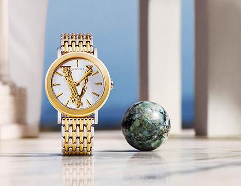 Versace'nin Kadınlar İçin Tasarladığı Yeni Saat Modeli İle Lükse Yeni Yorum