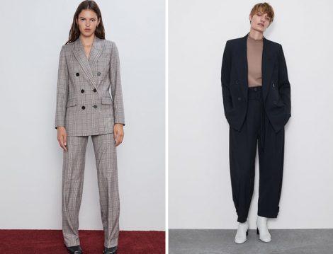 Zara Ceket Pantolon Takım