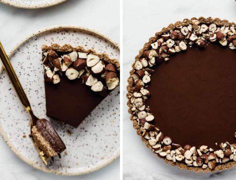 Çikolatalı Yulaflı Tart Tarifi