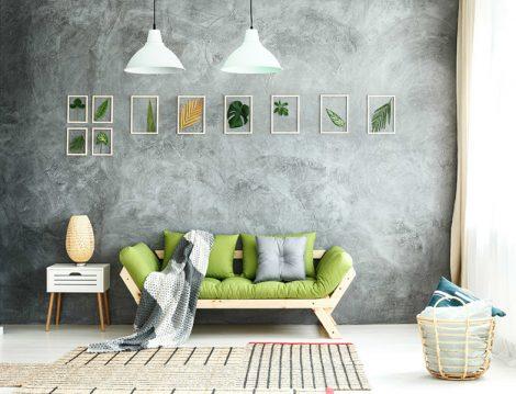 Dekorasyonda Gri ve Adaçayı Yeşili Modası