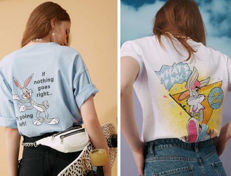 Koton 2020 İlkbahar Yaz Tom & Jerry Lisanslı Maskot Tasarımlı Tişört
