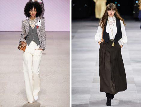 Louis Vuitton 2020 İlkbahar Yaz - Celine 2020 İlkbahar Yaz Yelek