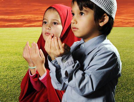 Çocuk ve Dua