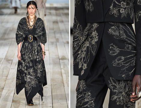 Alexander McQueen El İşleme Pantolon – Ceket ve Elbise Tasarımları