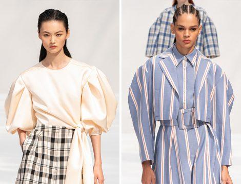 Carolina Herrera 2020 İlkbahar – Yaz Kabarık Kol Bluz ve Ceket