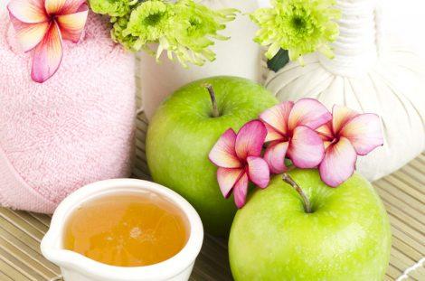 Elma İle Cilt Bakımı