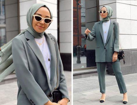Hülya Aslan: - Mango Blazer Ceket Takım