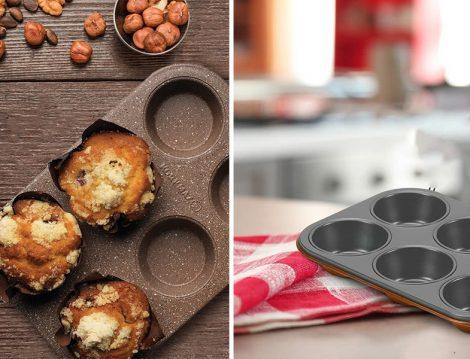 Korkmaz Muffin Kalıbı - ArYıldız Granit Muffin Kalıbı