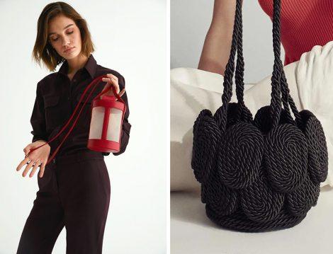 Mehry Mu Kırmızı ve Siyah Çanta