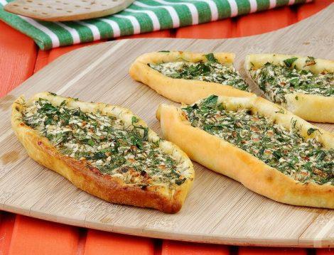 Otlu Peynirli Açık Pide Tarifi