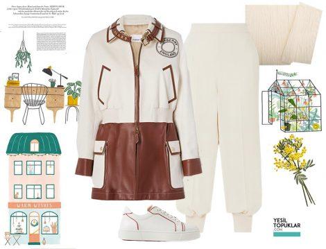 Stella McCartney Şalvar Pantolon - Burberry Ceket Kombini