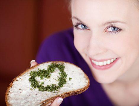 1 Dilim Tahıllı Ekmek