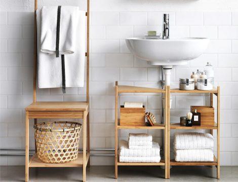 Banyo Temizliğinde Dolap, Raf ve Çekmecelerin Düzeni