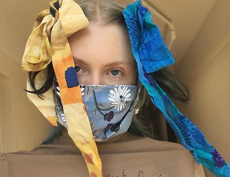 Moda Atölyelerinden Dünyaya Maske Desteği