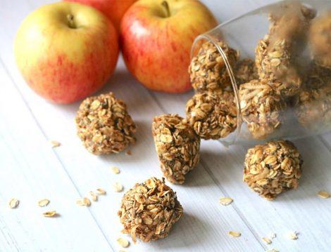 Tarçınlı Elma Topları