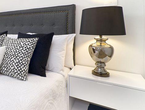 Yatak Odası Abajur Trendleri