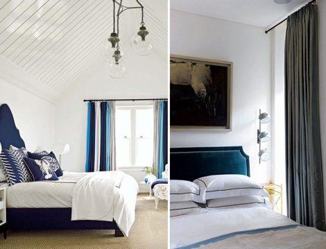 Yatak Odası Rustik Perde