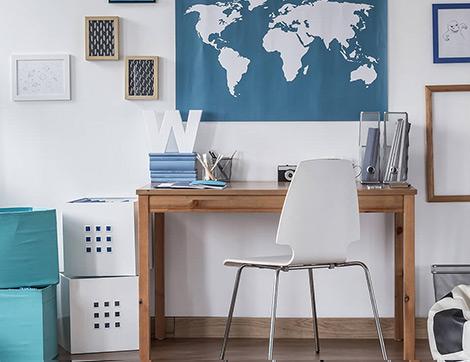Doğru Renklerle Ev Ortamında Çalışma Verimliliğini Arttırın
