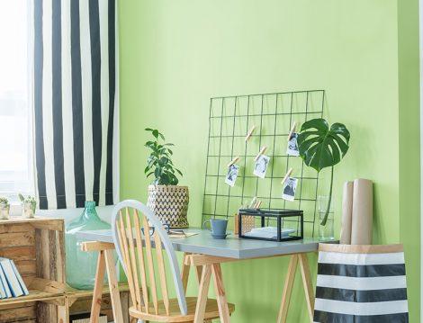 Bi Boya Yeşil Duvar Boyası