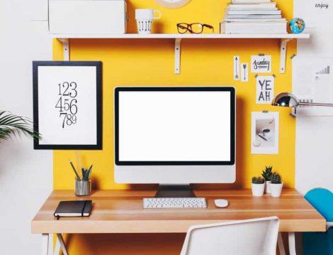 BiBoya Sarı Duvar Boyası