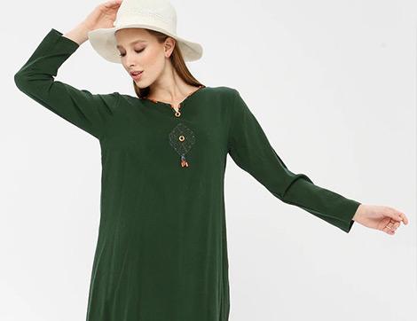 2020'nin En Güzel Şile Bezi Elbise ve Tunikleri