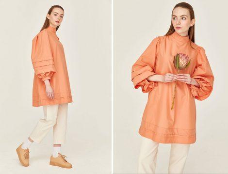 Hooops Store Volan Detaylı Alleriya Cotton Tunik