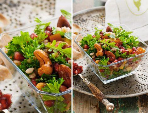 Kuru Yemişli Salata