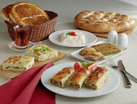 Ramazan Pidesi, Tatlı ve Börekler