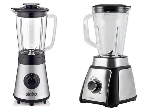Sinbo Inox Turbo Blender - Karaca Shaker Inox Smoothie Blender