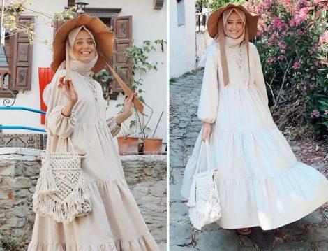 Aybükenur Demirci Fahhar Design Katkat Elbise Kombini