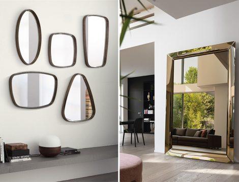 Aynalarla Galeri Duvarı
