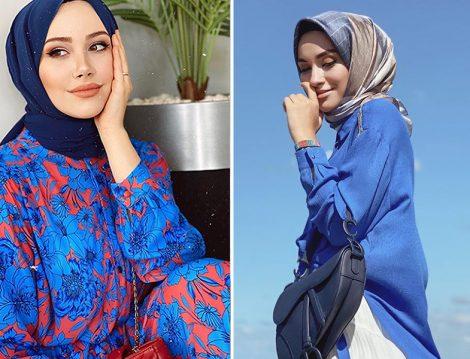 Feyza Hakyemez - Armine Çiçek Desenli Elbise ve Sena Sever - Armine Belden Bağlamalı Gömlek