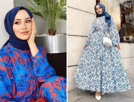 Feyza Hakyemez: Armine Desenli Elbise - Kadriye Baştürk Elbise