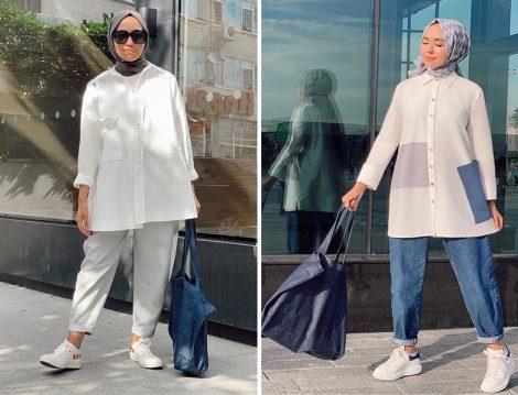 Hülya Aslan - Qooq Store Beyaz Gömlek