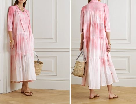Mercan Batik Elbise