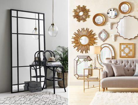 Modern ve Klasik Çerçeveli Ayna Modelleri