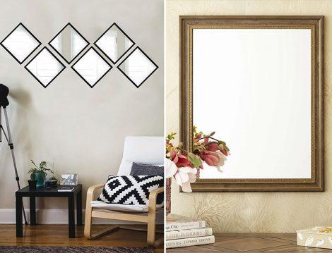Tablo Center Parçalı Ayna - English Home Ayna
