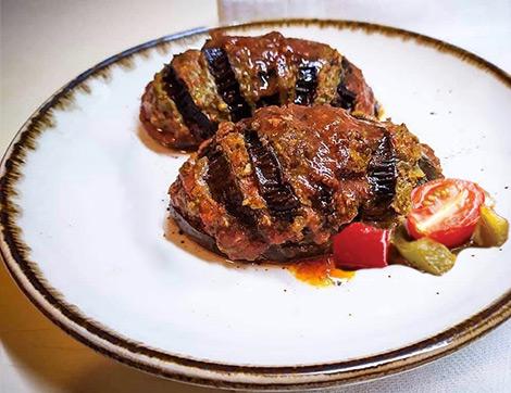 Yazın En Güzel Sebzesi Patlıcanla Nefis Yelpaze Kebabı Tarifi
