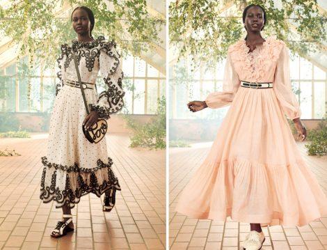 2021 Fırfırlı Elbise Modelleri