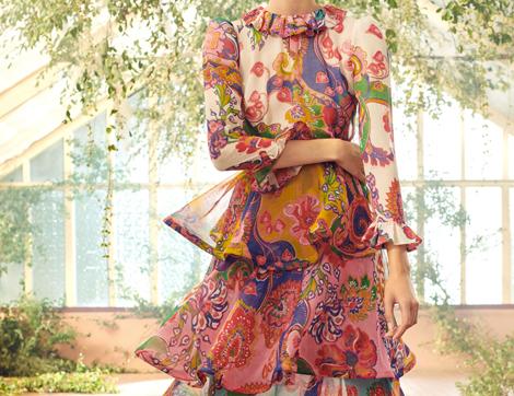 Zimmermann 2021 Koleksiyonundan Mutluluk Saçan Etek ve Elbiseler