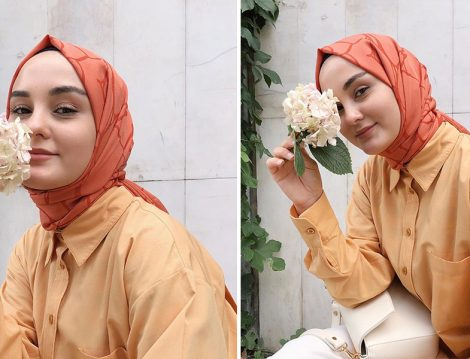 Aleyna Atalar - Rabiaca Sarı Tunik&Cardion Turucu Şal