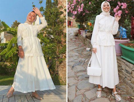 Ebru Sever Türk&Ess Prive Beyaz Takım - Aybüke Nur Demirci& Fahhar Design Beyaz Takım