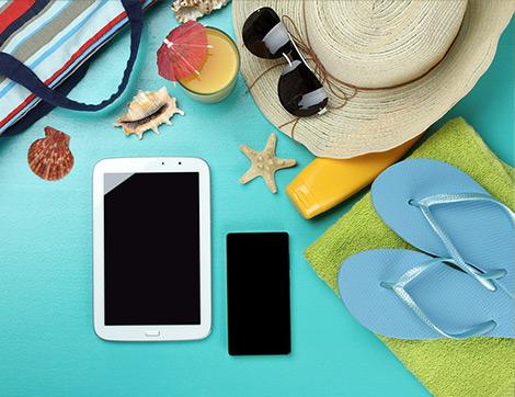 Tatil Yaparken Sürdürülen Teknolojik Alışkanlıklar