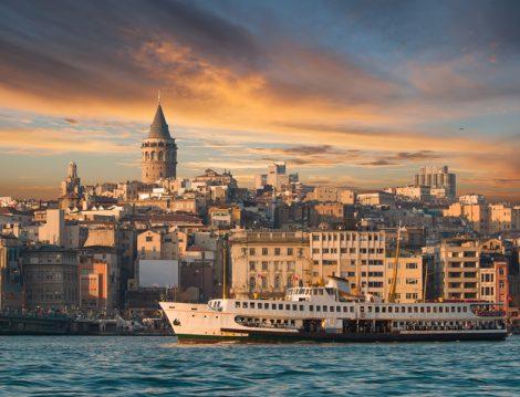 İstanbul Galata Kulesi Manzarası